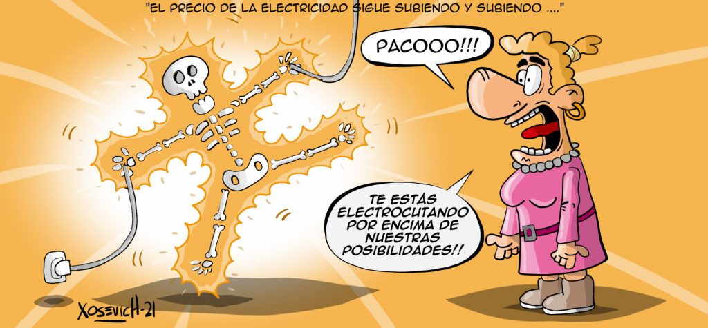 precio electricidad sube y paco se electrocuta chistes humor xosevich 21