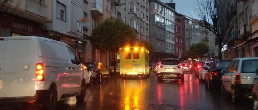 Ambulancia en un servicio