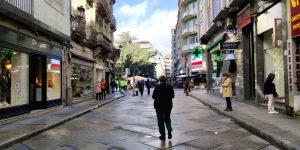 Calle Santo Domingo de Ourense