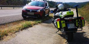 Guardia Civil exceso de velocidad