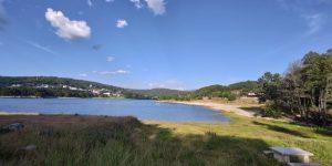 Playa de los franceses en A Veiga