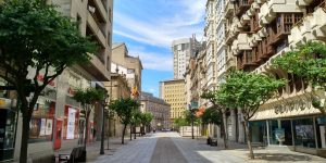 Rua do Paseo y Gobierno Civil