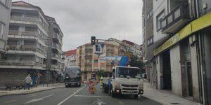 Semáforos de Ourense