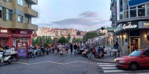 Terrazas en el Puente Romano