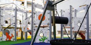 parque infantil en A Carballeira