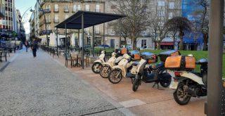 Motos en Parque de San Lázaro